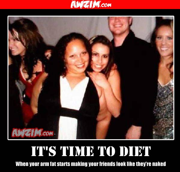 diet demotivational poster