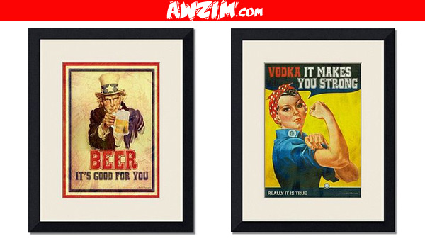 vintage funny posters