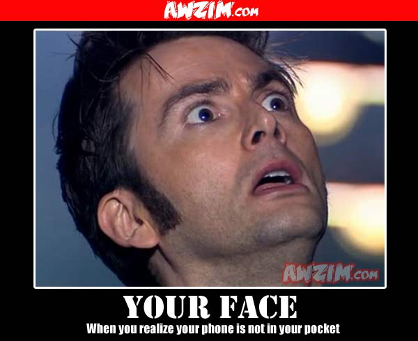 your face demotivational